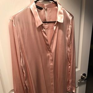 Zara Silk blouse worn only once